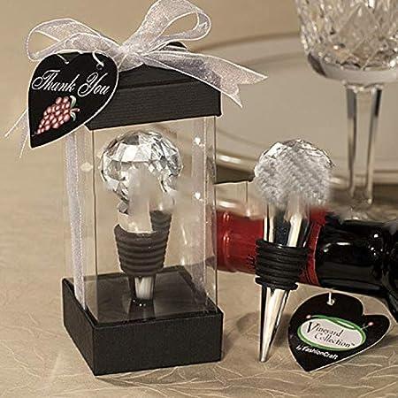 BOINN 2 tapones para botellas de vino decorativos, con caja de regalo
