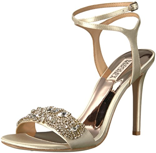 Badgley Ivory Heeled Women's Hailey Mischka Sandal rw4OXrq