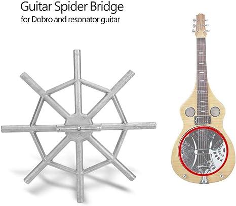 Tbest Guitarra Spider Bridge, Dobro Piezas de Guitarra Saddle ...