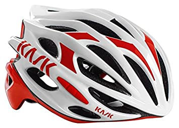 Kask Mojito Helmet White-Red 2016