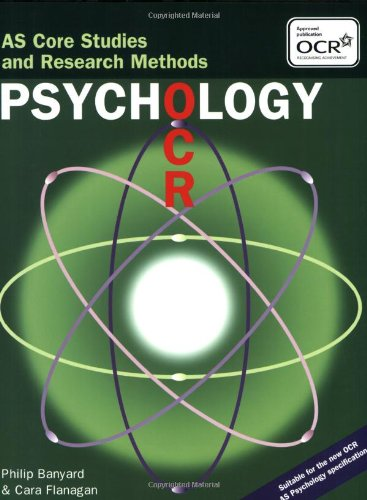 OCR Psychology: AS Core Studies and Research Methods