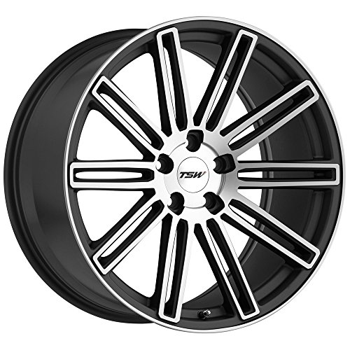20x8.5 TSW Crowthorne (Matte Gunmetal w/Matte Machine Face) Wheels/Rims 5x108 (2085CRW405108G72)