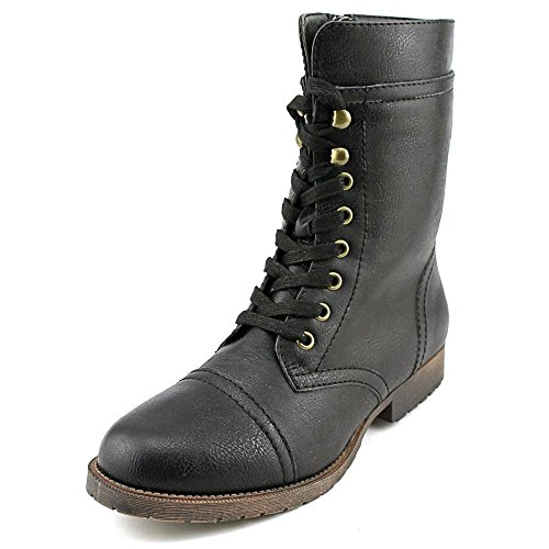 Rampage Jeliana Women US 5.5 Black Mid Calf Boot