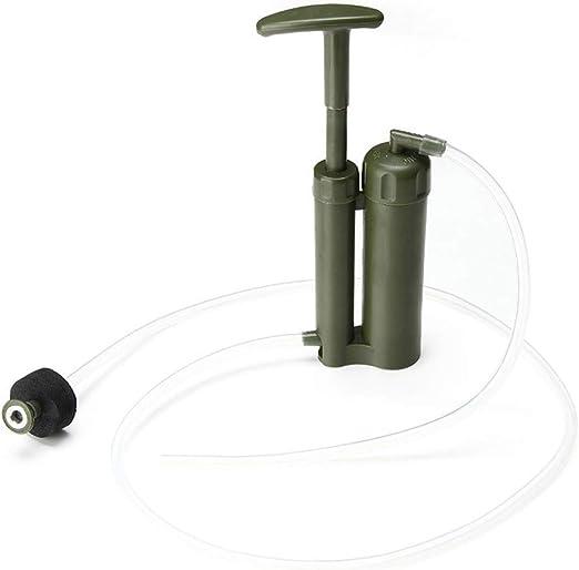 Filtro de agua Mini purificador práctico Supervivencia de ...