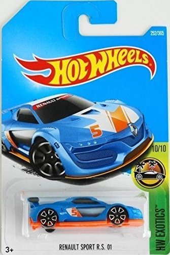 Hot Wheels 2017 HW Exotics Renault Sport R.S. 01 252/365, Blue Renault Le Car