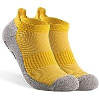 KKmoon Meias de futebol antiderrapantes Meias esportivas de tornozelo Meias de corte baixo atléticas ao ar livre Fitness respirável meias de secagem rápida Meias atléticas resistentes ao desgaste Mei
