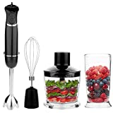 OXA Powerful 4-in-1 Hand Blender, 300 W - Black