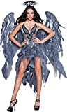 InCharacter Costumes Women's Dark Angel's Desire Costume, Grey/Silver, Large