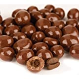 Chocolate Covered Coffee Espresso Beans (Regular Chocolate, 2 Lb) by Jellybean Foods
