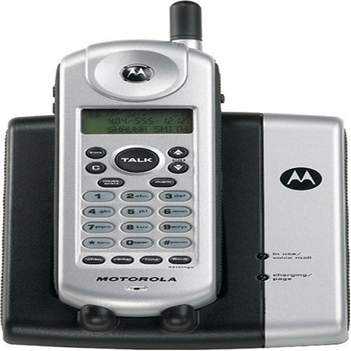 Motorola MA551 5.8 GHz Analog Cordless Phone with Caller ID (Silver) ()
