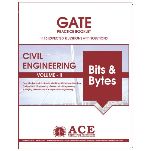 Buy GATE 2018 CIVIL Engg Practice Book volume 2, 1116