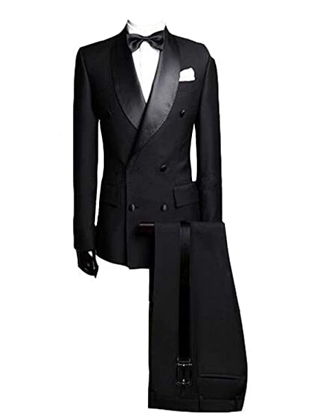 Amazon.com: Lilis Hombres Blazer Slim Fit formal del traje ...