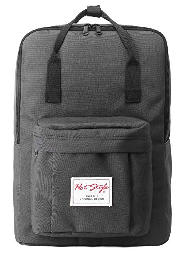 Travel Outdoor Computer Backpack Laptop bag small(darkgrey) - 2