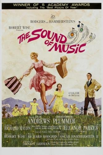 Purchase Music Posters - Sound Of Music The Movie Poster #01 24x36in