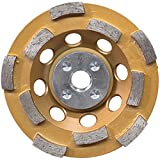Makita A-96198 Double Row Anti-Vibration Diamond Cup Wheel, 4-1/2
