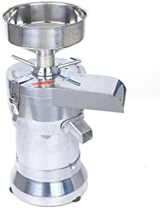 HYYKJ Electric Soybean Grinder Grinding Machine 110V 1100W Soy Milk Soymilk Processor Maker Making Machine with 100 Mesh Automatic Filtration Separation Commercial Home Use Food Grade Stainless Steel + Aluminum Alloy