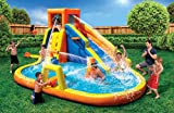 Banzai 90341 Battle Blast Adventure Park with Blower Motor and 3 Water Cannons
