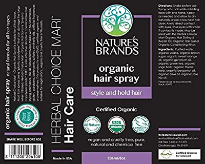 Herbal Choice Mari Organic Hair Spray