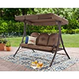 outdoor swing hammock - Mainstay* Wentworth Hammock Swing For 3-Person (Hammock Swing)