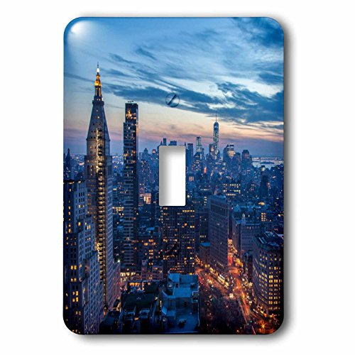 Danita Delimont - Urban - New York City, NY, USA - Light Switch Covers - single toggle switch (New York Single)
