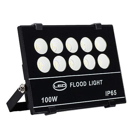 HUI LIGHT Seguro Foco Proyector LED,Luz De Proyección Impermeable ...
