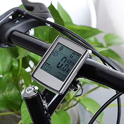 WHTBOX Velocimetro Bicicleta,CuentakilóMetros para Bicicleta ...