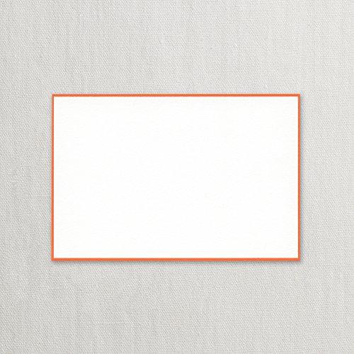 Crane Clementine Bordered Correspondence Card, Pearl White (CC3714)