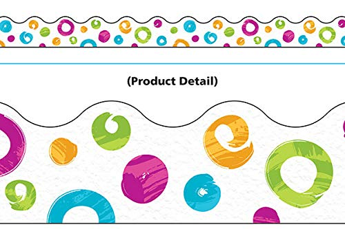 (Color Harmony Swirl Dots Terrific Trimmers, 39')