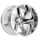 Hostile Switch Blade Wheel with Chrome Finish (20x14''/6x139.7mm)