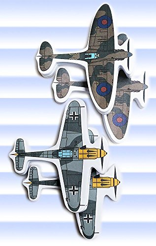 Battle of Briton Sticky Note Set 4 Pack Airplane World War 2 100 Sheets
