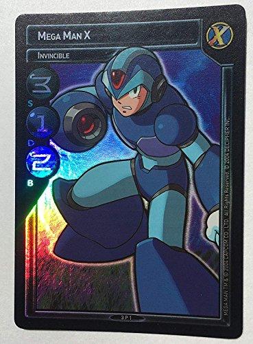 Mega Man X Invincible 3P1 Ultra Rare Promo FOIL Card - MegaMan TCG Trading Card Game