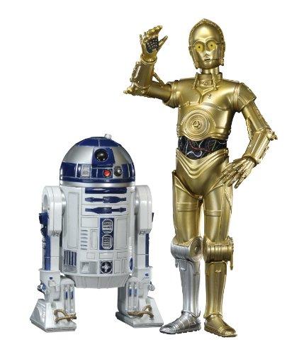 R2 D2 C-3po - Star Wars ARTFX+ R2-D2 & C-3PO Kotobukiya (1/10 Scale PVC Figure) ARTFX [Japan]