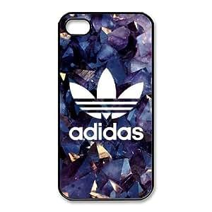 iPhone 4,4S Phone Case Black Adidas logo QY7036187
