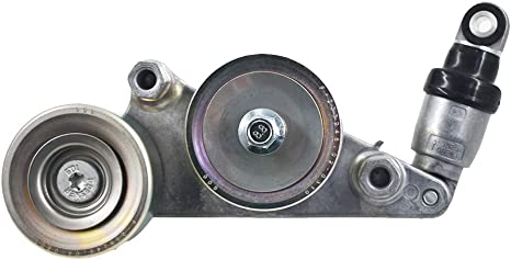 labwork Belt Tensioner Assembly Fit for Honda Odyssey 05-10 Pilot 06-11 Accord 08-10 Assembly w//Pulleys OE#39092 19253072