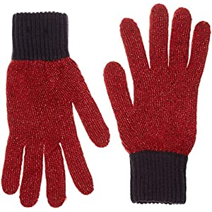 Tommy Jeans Women's Tjw Gloves, Blue (Corporate 901), One (Size: OS)