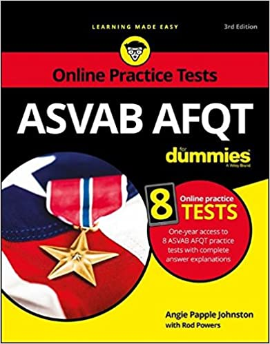 Amazon asvab afqt for dummies with online practice tests asvab afqt for dummies with online practice tests 3rd edition fandeluxe Gallery