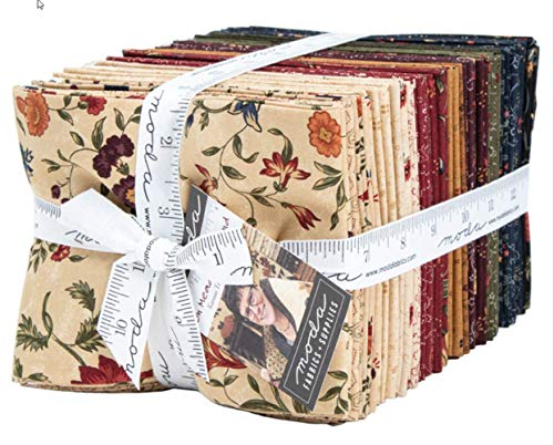 On Meadowlark Pond 40 Fat Quarter Bundle by Kansas Troubles Quilters for Moda Fabrics ()
