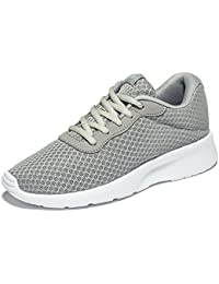 Men's Women's Lightweight Athletic Running Shoes, Breathable Mesh Jogging Walking Sneakers