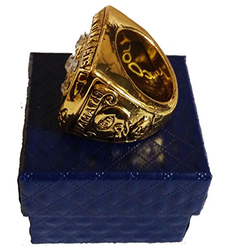 for YIYICOOL fans' collection 1968 New York Lightning team championship rings size 11 by YIYICOOL (Image #2)