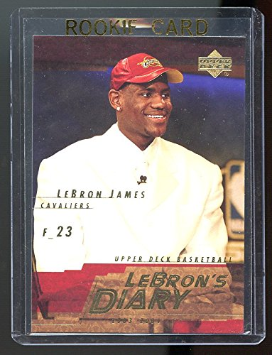 2003-04 Upper Deck Lebron's Diary Lebron James #LJ5 Rookie Card - Mint Condition Ships in Brand New Holder