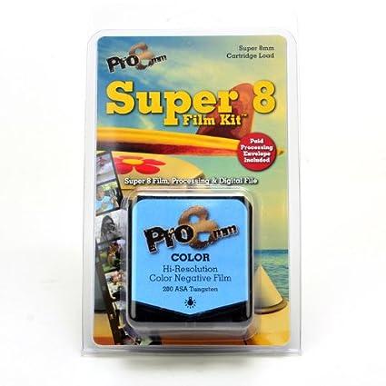 Pro8mm Color Super 8 Film Kit for Super 8mm Film Cameras