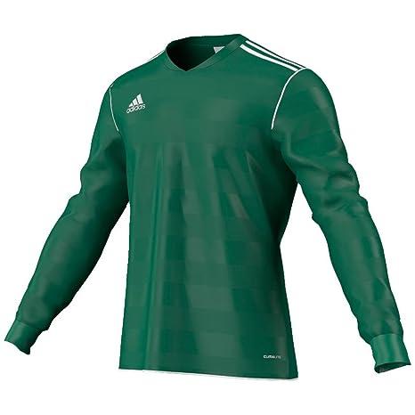 adidas Camiseta Tabe 11 Fútbol del l Corto/Verde WH, Hombre, Small