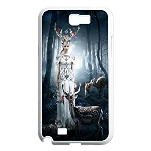 Cute Deer Pattern Hard Shell Cell Phone Case for Samsung Galaxy Case Note 2 HSL478246