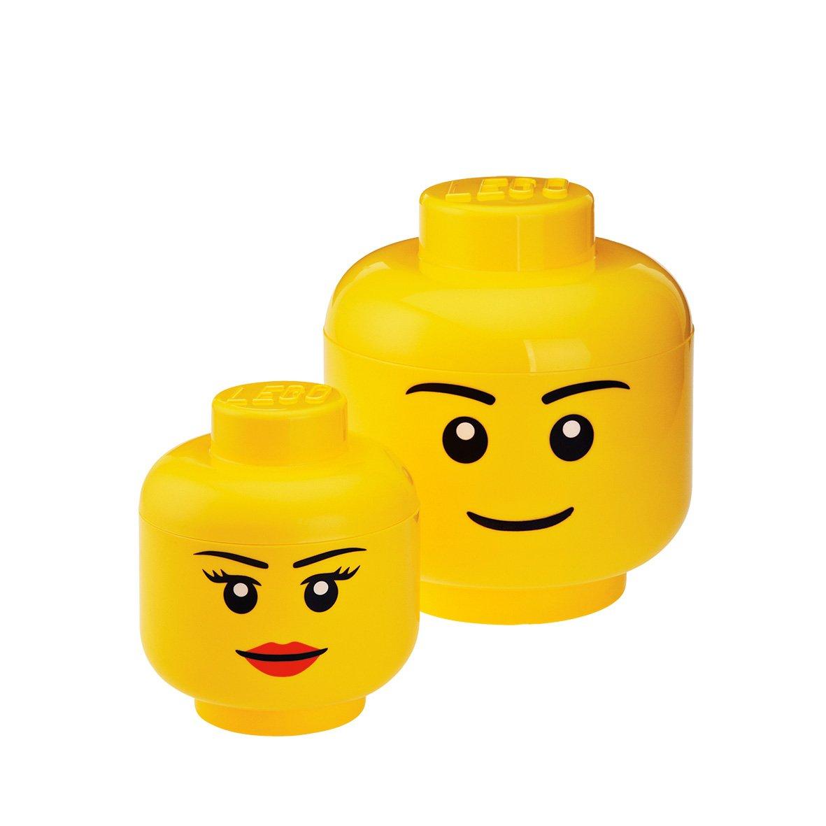 LEGO Storage Head Large Yellow Image 3