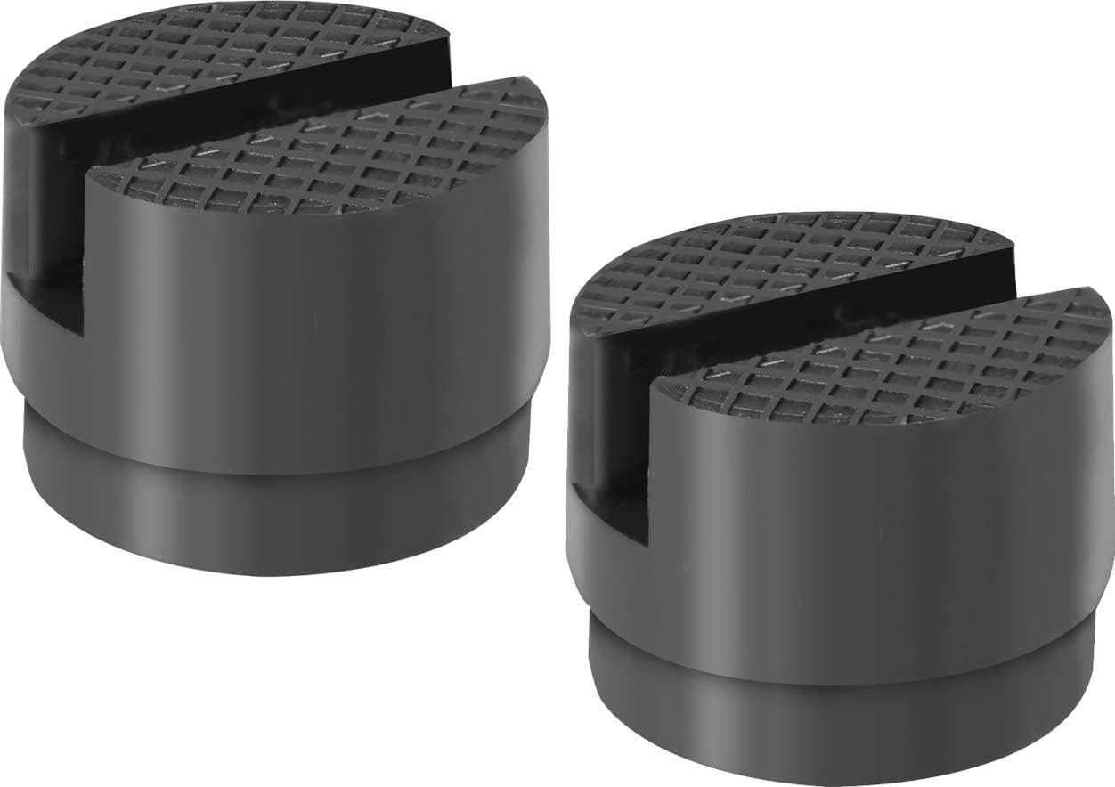 C7 Stingray Z51 Z06 in Gomma Nero DEDC 4 pz Jack Pad Jack Sollevamento Adattatore Martinetto Jack Punto Sollevamento Alluminio Billetta per 2014