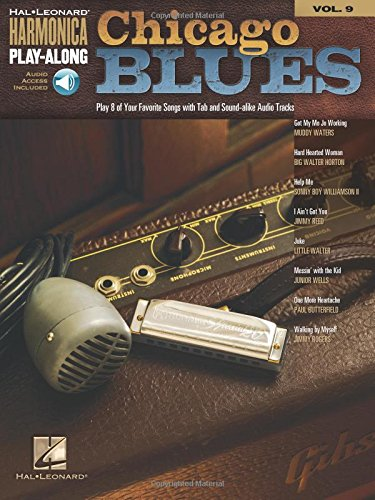 Chicago Blues - Harmonica Play-Along Volume 9 Book/Ao (Diatonic Harmonica)