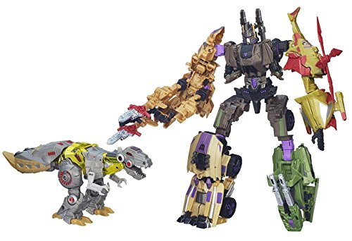 Transformers Platinum Edition Grimlock Vs. Decepticon Brutic
