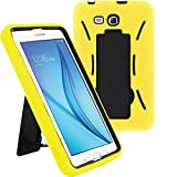 samsung 3 protective screen - Samsung Tab 3 Lite Case by KIQ (TM) Drop Protection Hybrid Case Full Body Silicone Plastic Cover for Samsung Galaxy Tab 3 7