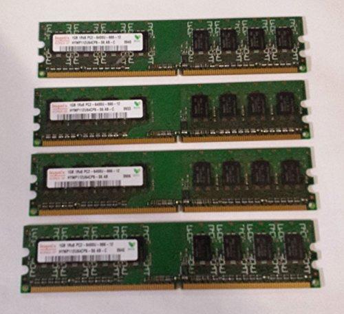 4GB (4x1GB) Ram Memory Dell Dimension E520 E520N E521 E521N (MAJOR - Ram Corsair Mb 512 Dimm