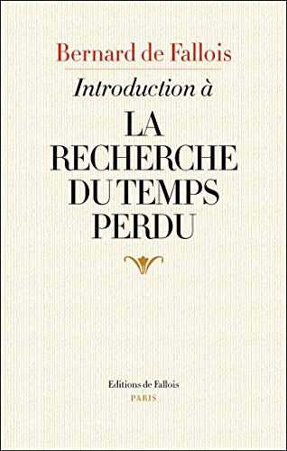 Amazon Com Introduction A La Recherche Du Temps Perdu